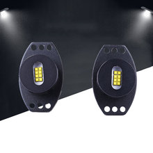 Vehemo 2PCS DC 12V Car LED Angel Eye Marker Light For BMW E90 Accessories 80W 5500LM(China)