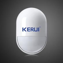 KERUI Wireless pir detector wireless 433MHz pir motion sensor For GSM PSTN Home Security Voice Alarm System