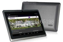 Cheap !!!7 inch A33  Dual cameras /Quad core WIFI OTG  512MB /8GB 1024*600  Android 4.4 Tablet PC Q88