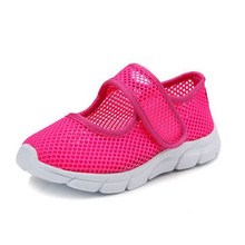 Girls Sandals Candy Color Kids Shoes Summer Breathable Mesh Children Shoes Single Net Cloth Boys Shoes Girls Shoes Size 26-36(China)