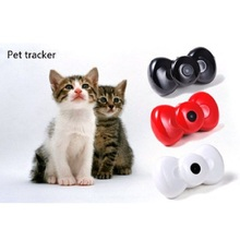 Mini Bow Tie MMS Video GSM/GPRS Locator Real Time Tracker for Pets Dogs Cats Tracking(China)