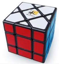 LeadingStar Dayan Bermuda Triangle Magic Cube Black Mercury