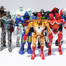 Dream Vanz 8pcs/set Real Steel PVC Action Figures Collectible Model Dolls Toys Kids Gifts