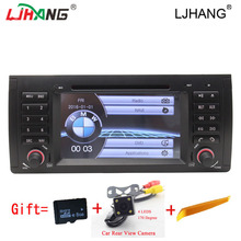 HD 7'' Auto Radio stereo Car dvd player Multimedia For BMW E39 M5 1995~2003 E53 2000~2007 Steering Wheel Control GPS NAVI IPOD(China)