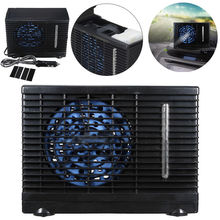 12V 3A Portable Evaporative Mini Air Conditioning Conditioner for Car Cooler Cooling Fan Water Ice Compressor Auto Fridge Cold(China)