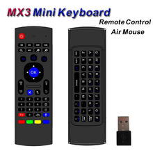 Wireless Mini Keyboard MX3 Fly Air Mouse Smart TV Remote Control USB Receiver for Android TV Box A95X X92 HTPC IPTV Mini PC Xbox