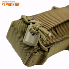 Spanker 1000D Tactical Molle Pistol Gun Holster Airsoft Magazine Pouch Combat Hunting Flashlight Torch Ammo Pouch Bag(China)
