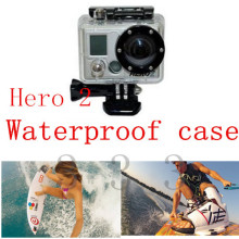 Gopro Accessories Waterproof Underwater Housing Case Protective For Gopro Hero2 Mount Surfboard,Kayak,A-peak Surfboard,Boat Deck
