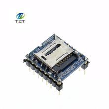 1PCS/LOT WTV020 WTV020-SD WTV020SD-20SS Mini SD Card MP3 Sound Module For PIC WTV020-SD-16P