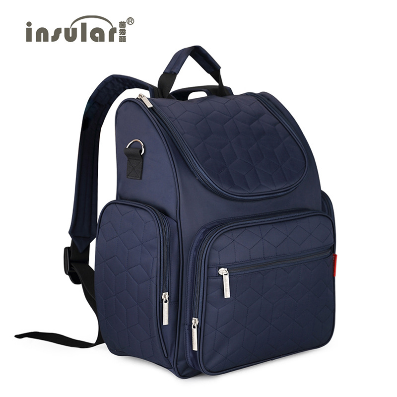 2016 New Arrival Elegant Baby Diaper Backpacks Nappy Bags Multifunctional Changing Bags For Mommy bags<br>