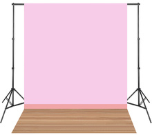 LIFE MAGIC BOX Vinyl Baby Pink Photoshoot Background Newborn Photography Backdrops Portrait Photo Wallpapers Wood Floor(China)