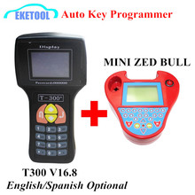 Smart MINI Zed Bull SW V508 HW V5.02 Car Key Matching&Newest V16.8 T300 Auto Key Programmer Anti-theft Matching Express Fast(China)