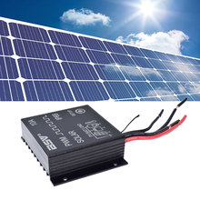 24V 12V Auto Solar Panel Battery Charge Controller 30A 20A 10A PWM LCD Display Solar Collector Regulator With IP68 Waterproof(China)