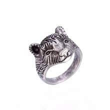 Dawapara Bear Animal ring punk viking rings for women men jewelry mens wedding band