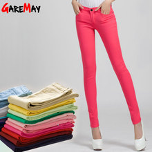 pink pants trousers female womens formal trousers for women casual pants black cotton black pants black stretch pants red(China)