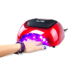 MelodySusie DHL blister packing nail dryer machine 110v-220v autotimer sensor 48w led nail lamp