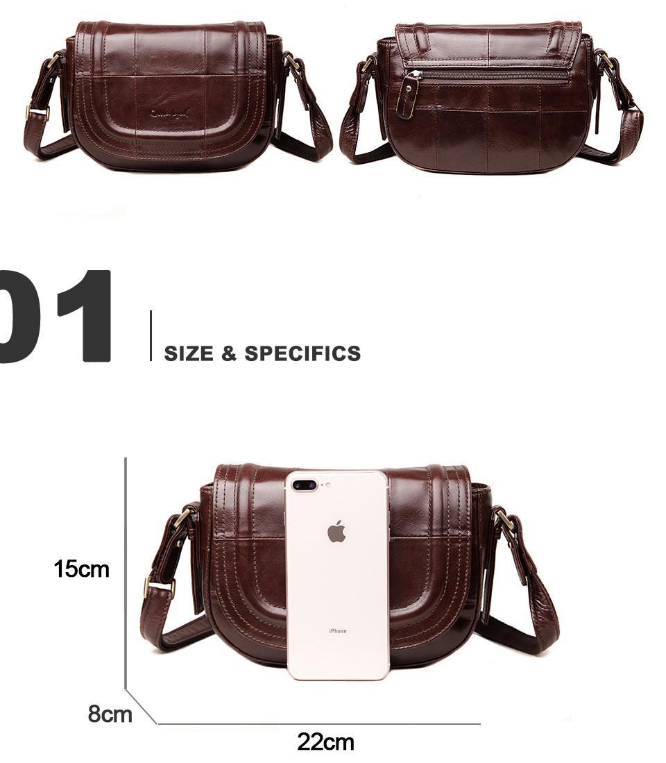 حقيبة جلد طبيعي للنساء 2