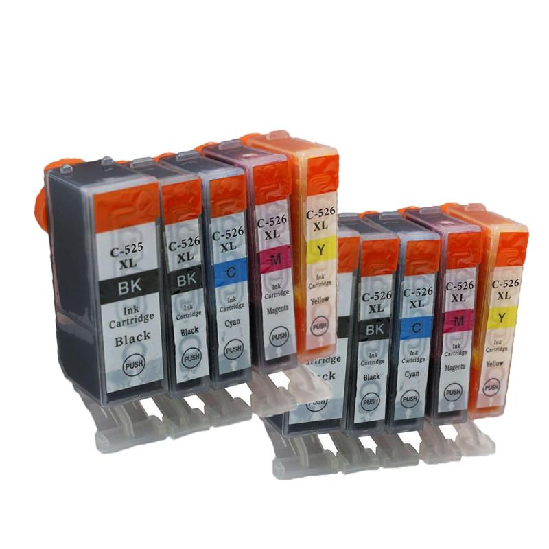 2 sSet PGI 525 CLI 526 Ink Cartridge for Canon PIXMA IP4850 IP4950 IX6550 MG5150 MG5250 MG6250 MG8250 MX715 MX885 MX895 PGI525 <br><br>Aliexpress
