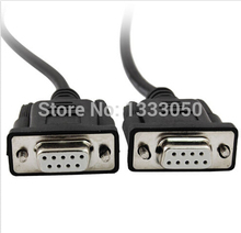 11.11 Free Shippinng 7.9Ft Female RS232 DB9 9 Pin PLC Programming Cable Cord for Allen Bradley SLC(China)