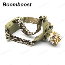 Boomboost Ultra Bright more powerful and lasting energy Camouflage light shot from head lamps outdoor lighting LED headlight