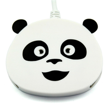 Hot sale Creative new gift panda shaped High Speed 4 Port USB 2.0 Hub Splitter adapter for Laptop computer(China)