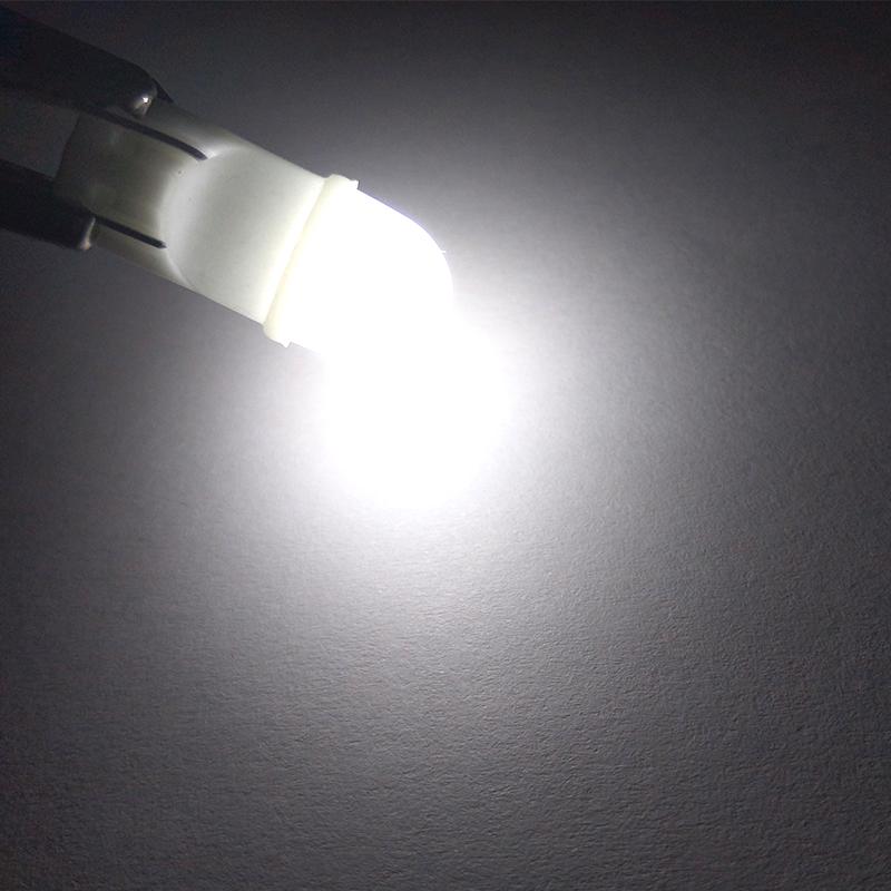 CNSUNNYLIGHT Newest Ceramic Base T10 W5W LED 3030 Car Interior Light Marker Lamp 12V 194 501 Wedge Parking Dome Bulb White 5500K (1)