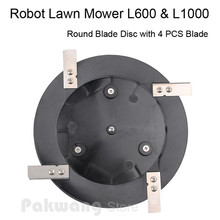 Original Robot Mower L600 L1000 Blade Disc 1 pc and Blade 4 pcs, Robot mower spare parts