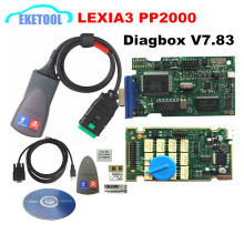 Professional Lite Lexia3 PP2000 Diagbox V7.83 PSA XS Evolution For Citroen/Peugeot LEXIA-3 FW 921815C Lexia 3 Normal Chip(China)