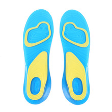 Hot! Orthotic Arch Support Massaging Silicone Anti-Slip Gel Soft Sport Insole Pad Foot Care Size S/L China Post Fast Shipping