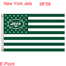 New York Jets 3*5ft Polyester flag type A(China)