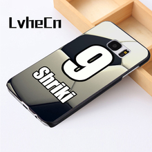 LvheCn phone case For Samsung Galaxy S3 S4 S5 mini S6 S7 S8 edge plus Note2 3 4 5 7 8 Personalized Number Name Soccer FootBall