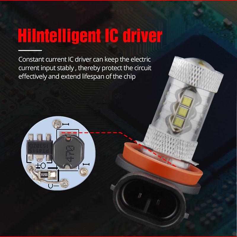 Fog lamp H11 H9 H8 (8)