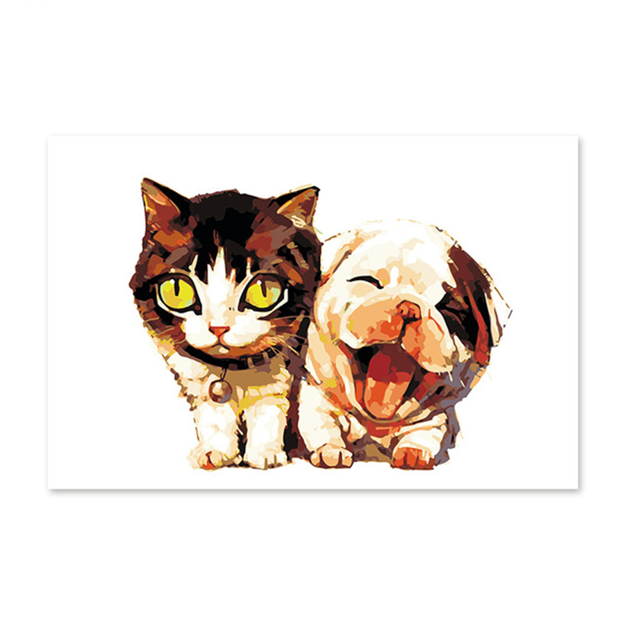 Diy-digital-oil-painting-by-numbers-drawing-hand-painted-picture-Wall-Decor-pictures-cat-and-dog.jpg_640x640