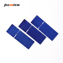 JSLINTER 100pcs Small Solar Cell 17.8  Higher Efficiency 76x26mm DIY 5V Solar Panel for charger