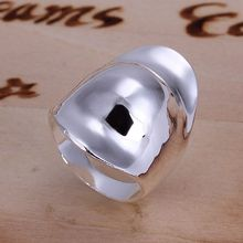 Wholesale 925 jewelry silver plated ring, 925 jewelry silver plated fashion jewelry, Hats Thumb Ring  SMTR050
