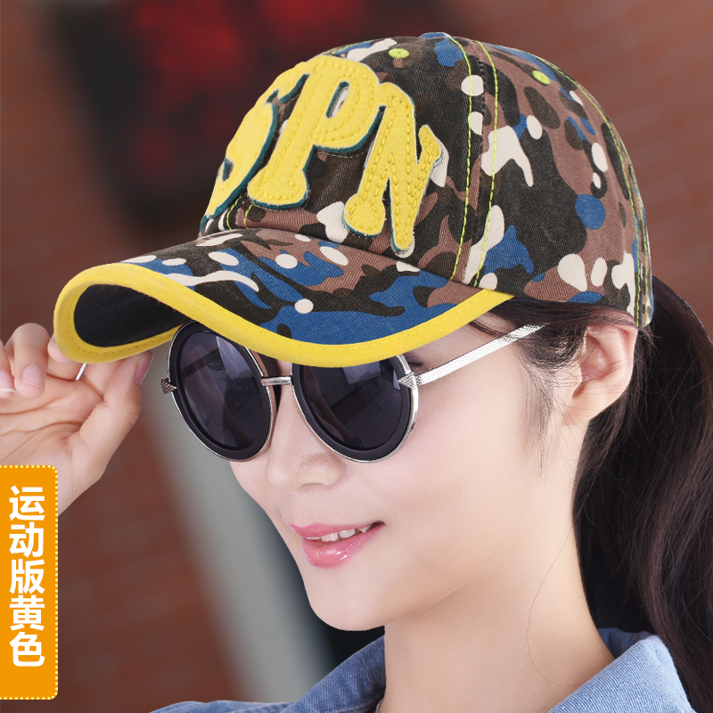 Hat baseball cap female spring and autumn fashion Camouflage denim cap millinery outdoor casual sun hat spring cotton <br><br>Aliexpress