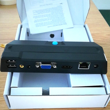 Hystou X2 Thin Client RDP 2G Flash PC Station NComputing Cloud Terminal Virtual Desktop Computer Mini PC Windows Linux HDMI WiFi(China)