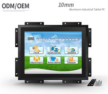 12'' Capacitive Touch Screen Monitor, LED Backlight Industrial Monitor