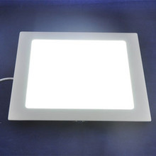 3w 6w 9w 12w 15w  25w Square led panel light ceiling downlight Warm White cold white AC85-265V for kitchen bathroom lighting