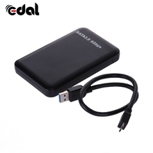 EDAL Slim 2.5inch USB 3.0 HDD Case Hard Driver 3TB SATA External Box Disk Cases