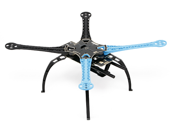 S500 Glass Fiber Quadcopter Frame Kit 480mm - Integrated PCB Version<br><br>Aliexpress