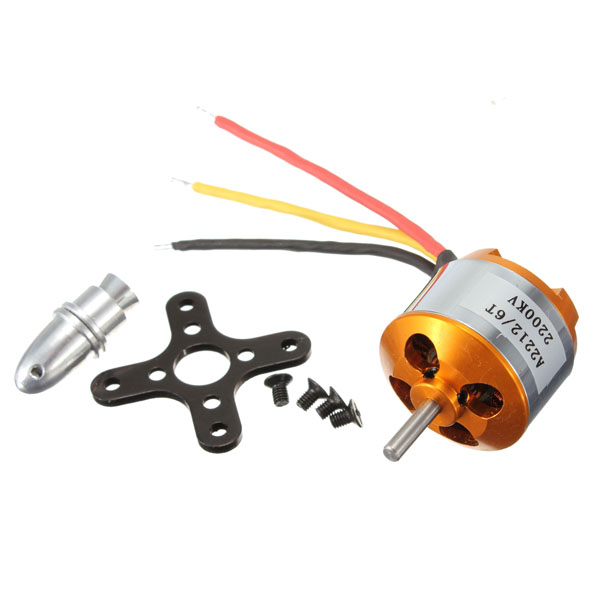 XXD A2212 KV2200 Brushless Motor H365 For RC Airplane Quadcopter<br><br>Aliexpress