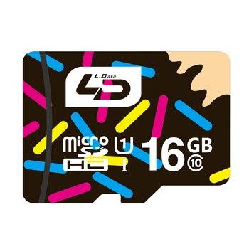 Carte Micro Sd 16 GB Classe 10 LD MicroSD UHS1 Carte Mémoire pour Android Smartphone