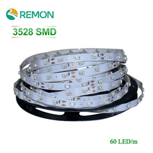 12V LED Strip Light 3528 5M 300LEDs Flexible Rope Outdoor Lighting Non Waterproof RGB/WarmWhite/White/Green/Blue/Red/Yellow Lamp