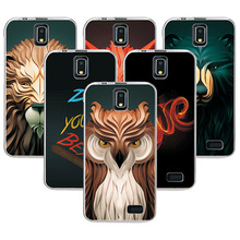 Buy Coque Lenovo A328 A328T Case Cover Attractive Fashion Lion fox Painting Back Protector Lenovo A328 Soft Silicone Case for $1.24 in AliExpress store