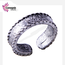 $ ancient silver Octopus ring Handmade retro open ring in jewelry birthday surprise gifts hand rings for men