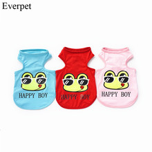 Cheap Brand name dog clothes for pet dog cute vest for summer dog clothing for small pet dog clothes for cat summer