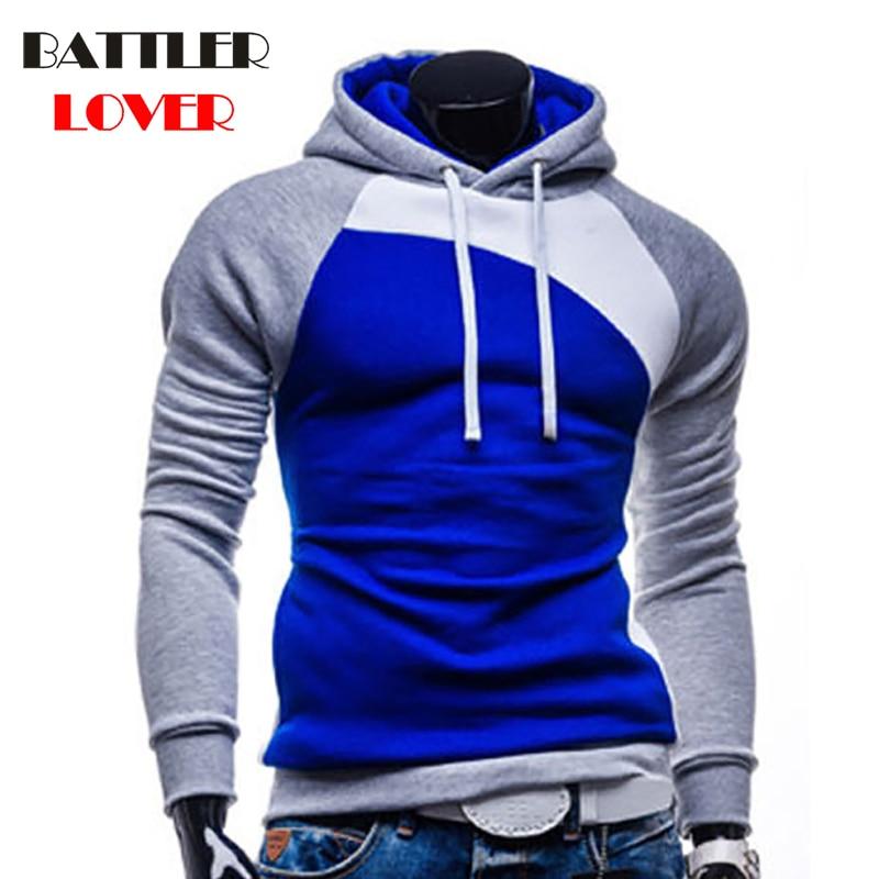 Pullovers Hoodies Men Autumn Hooded Hoodies Mens Patchwork Sweatshirts Hip Hops Males Casual Brand Clothing Hombre Hoody Jacket