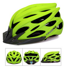 2017 Bicycle Helmets Men Women Helmet Back Light Mountain Road Bike Integrally Molded Cycling Helmets Casco Ciclismo Matte Green(China)