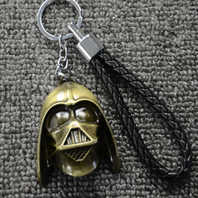 Hot Star Wars Motorcycle & Car Keychain Car Styling Purse Bag Backpack Key Chain Ring Pendant Darth Vader Car Accessories(China)
